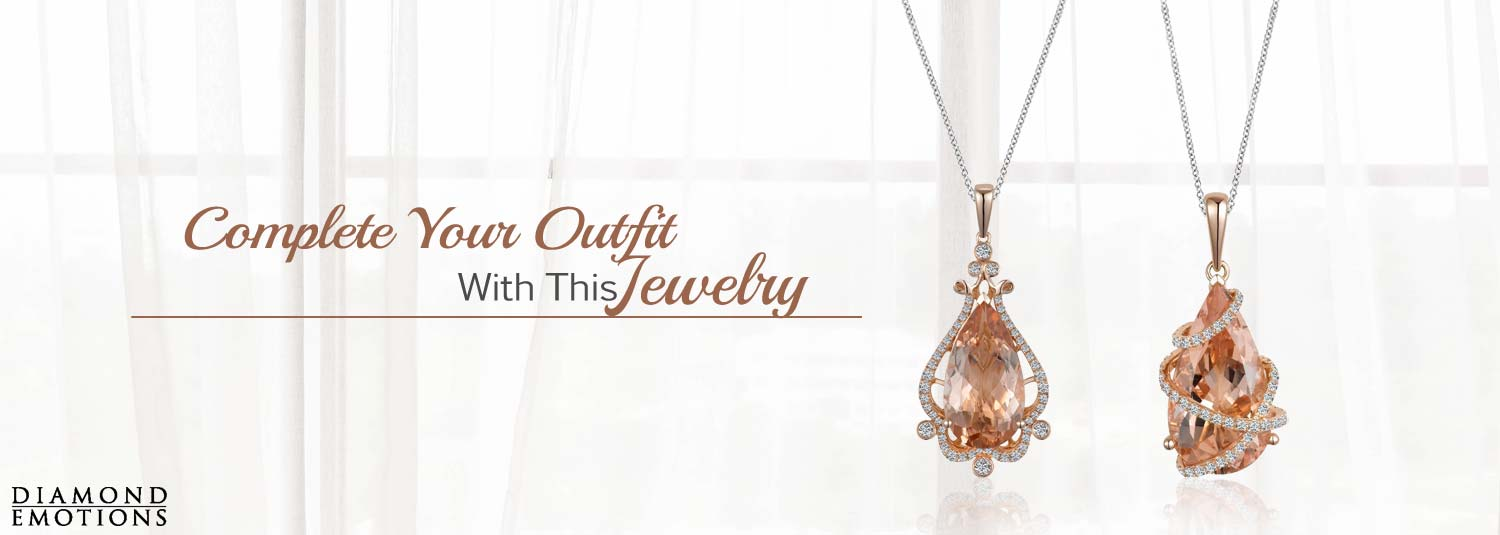 Fashion Pendants From Diamond Emotions Available At Lowery Jewelers
